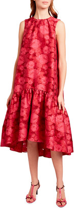 Erdem Winsloe Sleeveless Midi Dress