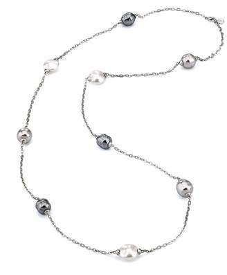 Majorica Women Multicolour Chain Necklace of Length 90cm 12083.21.2.000.010.1
