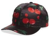 Cara Women's Cherry Baseball Cap - Black