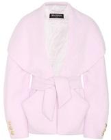 Balmain Angora-blend Jacket