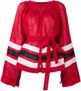 Vita Kin Striped bell sleeve tunic