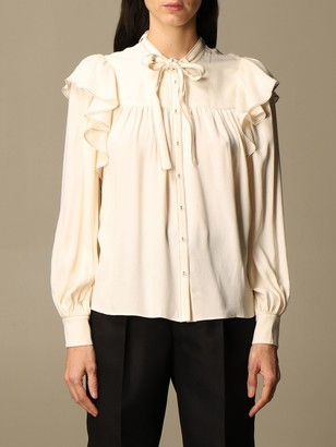 Ulla Johnson Shirt With Ruffles