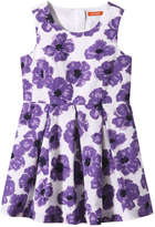 Joe Fresh Kid Girls' Print Dress, Purple (Size 6)