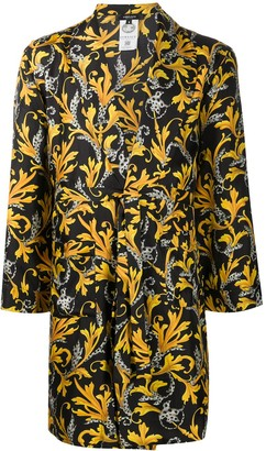 Versace Barocco-print silk robe