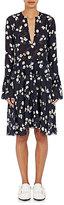 Derek Lam 10 Crosby Women's Devoré Chiffon Dress-BLUE
