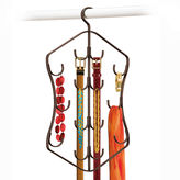 Lynk Hanging 14-Hook Accessory Organizer