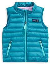 Patagonia Toddler Girl's 600-Fill Down Sweater Vest