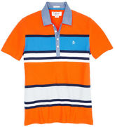 Original Penguin Engineered Rugby Stripe Polo
