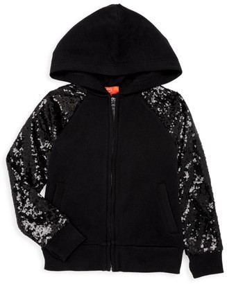 Butter Shoes Girl's Sequin Hoodie