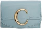 Chloé Blue C Trifold Wallet