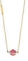 Marc Jacobs Strass Planet Pendant Necklace