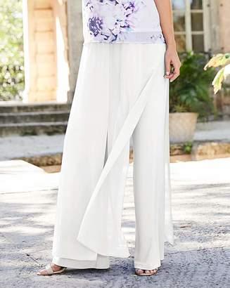 Joanna Hope Chiffon Overlay Trousers