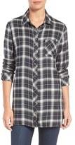 KUT from the Kloth Women's Kazu Plaid Tunic Shirt