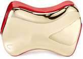 Christian Louboutin Shoespeaks Brass Clutch Bag, Golden