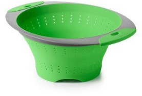 Good Grips OXO 3.3 L Collapsible Colander - Green/Grey