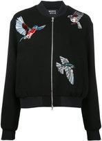 Markus Lupfer bird patch bomber jacket