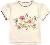 Jo-Jo JoJo Maman Bebe Poppy T-Shirt (Baby)-Cream-18-24 Months