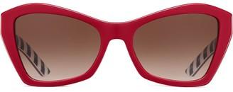Prada Disguise cat-eye frame sunglasses