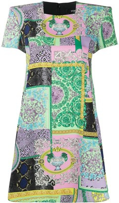 Versace Printed Shift Dress