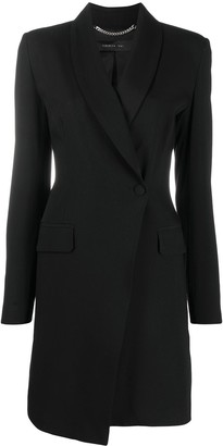 FEDERICA TOSI Asymmetric Front Longline Jacket