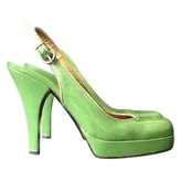Miu Miu Patent Leather Court Shoes