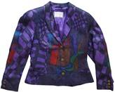 Versus Purple Jacket for Women Vintage