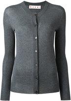 Marni raw edge cardigan - women - Cotton - 40