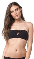 O'Neill Women's Salt Water Solids Bandeau Bikini Top