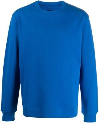 John Undercover Quilted-Panel Sweatshirt