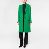 Paul Smith Women's Green Wool Epsom Coat