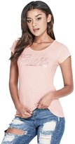 GUESS Factory Women's Sazey Studded Tee