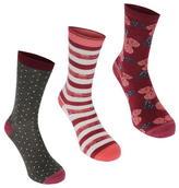 Firetrap 3 Pack Dress Socks