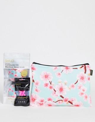 SMUG cherry blossom sleep set
