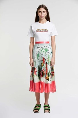 DELFI Collective The Aloha Tee In White - XS