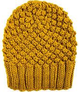 Spacecraft The Stella Knit Beanie in Mustard