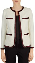 Gerard Darel Jadie Textured Knit Jacket