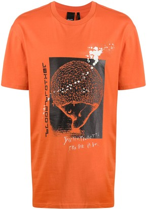 Blood Brother Take The Ride graphic-print T-Shirt