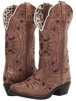 Laredo Queen of Diamonds (Tan) Women's Boots