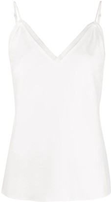 Frame Raw-Edge Cami Top