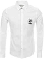 Versace Long Sleeved Shirt White