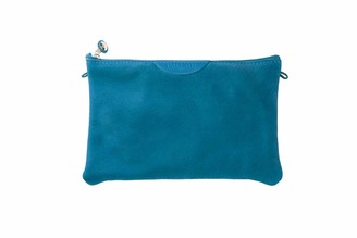 Borsa Dallaiti Design Women's in Pelle Scamosciata E Tracolla in Cuoio Shoulder Bag