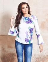 Jessica Wright Floral Blouse