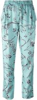 3.1 Phillip Lim botanical print trousers - women - Silk - 4