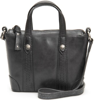 Frye Melissa Mini Leather Crossbody Shopper