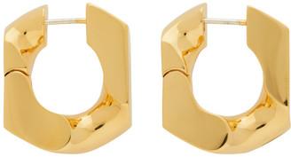 Numbering Gold 251 Earrings