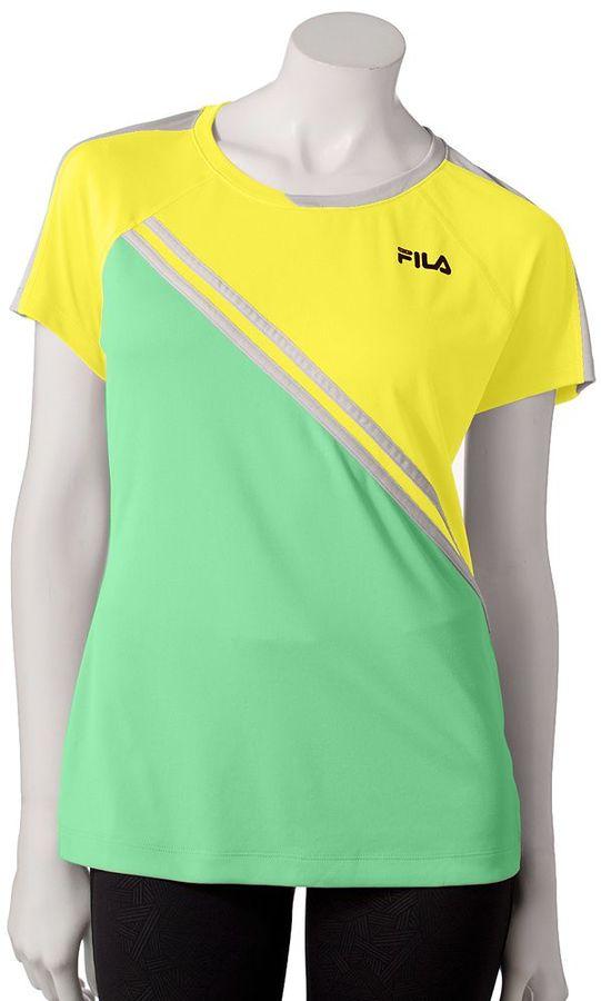Fila sport ® goal colorblock performance tee