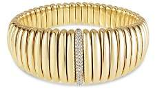 Hulchi Belluni 18K Yellow Gold Tresore Diamond Graduated Banded Bracelet