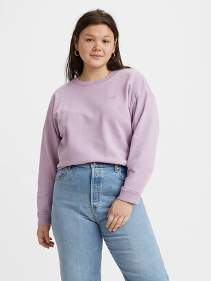 Levi's Diana Crewneck Sweatshirt (Plus Size)