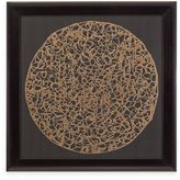 Bassett Mirror Company Gold Decograph Wall Art
