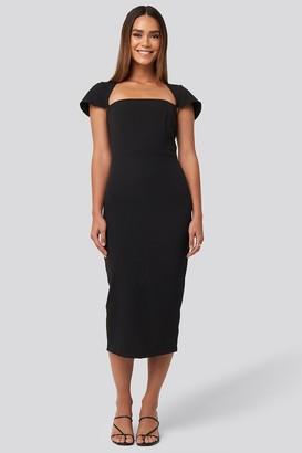 Trendyol Sleeve Detailed Midi Dress